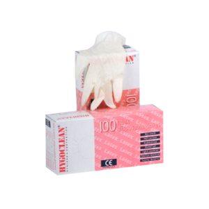 Latex Handschoenen Gepoederd Maat L A 100 St