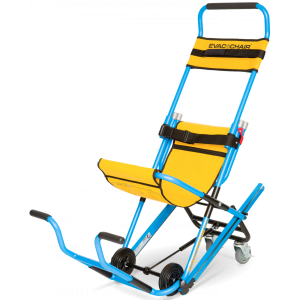 Evac Chair 600H Mit Abdeckhulle, Aufhangbugel, Hinweisschild