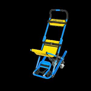 Evac Chair MK5 Mit Fußstütze, Abdeckhulle, Hinweisschild